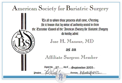 American Society for Bariatic Surgery
